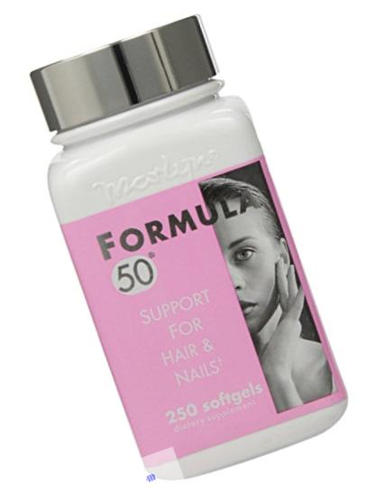 Naturally Vitamins Formula 50 Support For Hair & Nails, 250 Softgels
