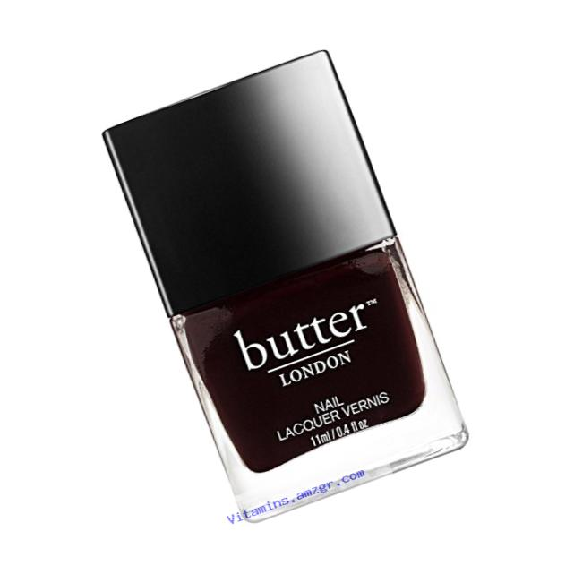 butter LONDON Nail Lacquer, Red Shades, La Moss