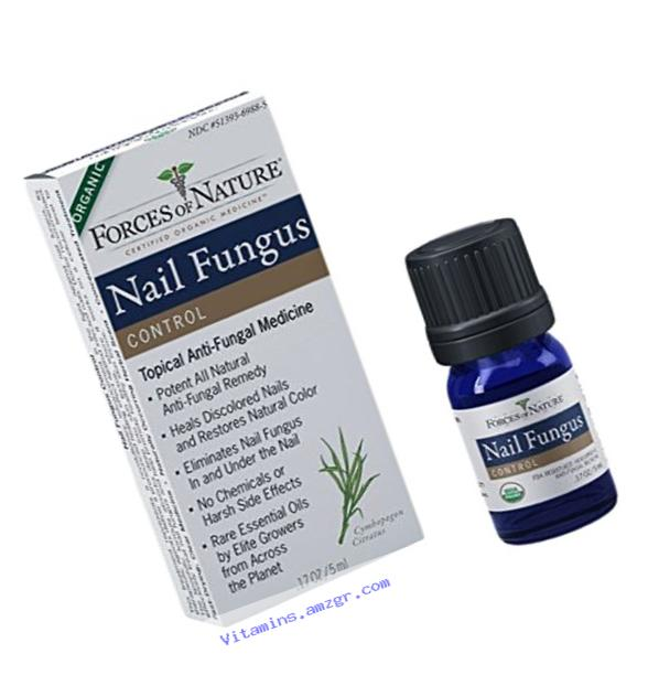 Forces of Nature Nail Fungus Control, 5ml